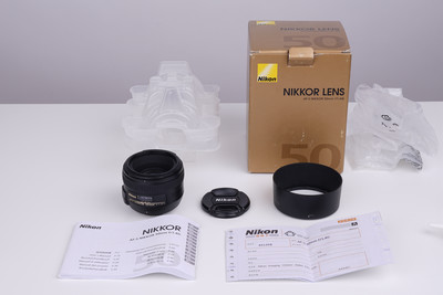 自用一手 尼康 AF-S 50mm f/1.4 G