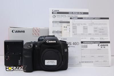 96新 佳能 40D 行货带包装 (BG11130010)【已成交】