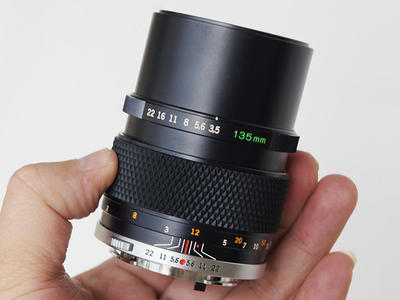 Olympus/奥林巴斯OM135 F3.5 定焦手动镜头 可转接A7等
