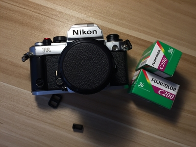 Nikon FA 胶片相机  带AIS 50 1.4镜头