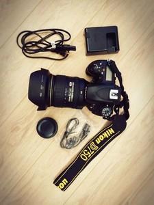 Nikon尼康d750 单反套机(24-120镜头)