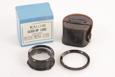 KALCOR CLOUSE-UP 40mm / Baj III 日产镀膜特写滤镜#HK7197X
