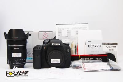 98新 佳能 7D+EFS18-135 IS 套机 行货带包装(BG09100005/6)