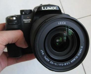 panasonic松下L10微型单反翻转屏4/3套机徕卡LEICA 14-50防抖镜头