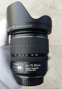 99新行货佳能 EF-S 15-85mm f/3.5-5.6 IS USM广角变焦镜头!