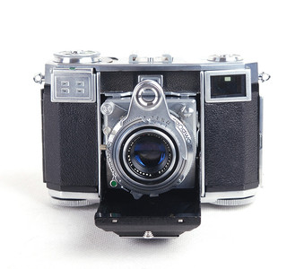 Zeiss ikon/蔡司依康  contessa 35折叠相机 45/2.8 T镜头jp18253