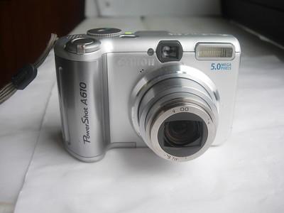 很新佳能 A610数码相机,1.8大CCD,功能实用