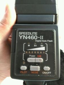 永诺闪光灯YN460 II 成色98新