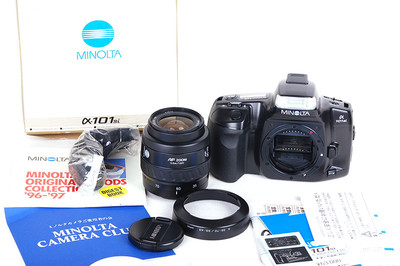 Minolta/美能达 α-101si  AF 35-70/3.5-4.5镜头套机 #jp17658