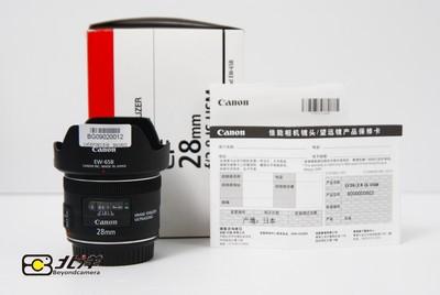 99新 佳能 EF 28mm f/2.8 IS USM行货带包装 (BG09020012)