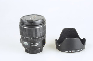 98新 佳能 EF-S 15-85mm f/3.5-5.6 IS USM