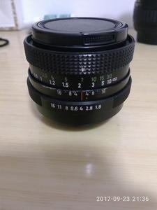 潘泰康Pentacon 50mm f/1.8 MC