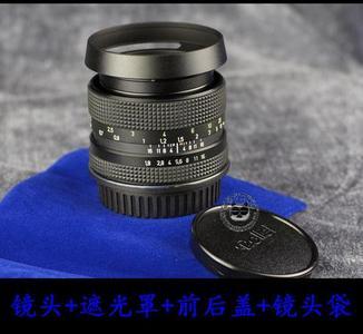 可议价Rollei(禄莱)50 1.8 HFT高保真镀膜原口+索尼转接环