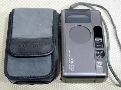 Contax /康泰时 38/2.8 T* 钛黑色旁轴卡片机 带日期后背