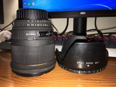 适马 24mm f/1.8 EX 尼康口 90新