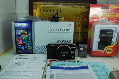 97新 奥林巴斯 E-PM2 微单 单电数码相机 1600万像素 触摸屏