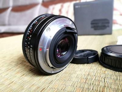 99新 福伦达 ULTRON 40mm f/2 SL II (宾得口)包装配件齐全