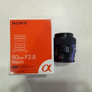 索尼 50mm f/2.8(SAL50M28)镜头