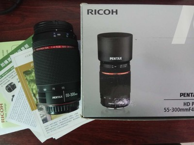 宾得 HD PENTAX-DA 55-300mm f/4-5.8ED WR