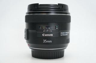 95新佳能 EF 35mm f/2 IS USM  35/2