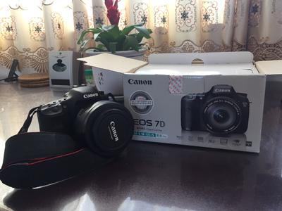 九新闲置正品行货 佳能EFS15-85mm f/3.55.6镜头+EOS7D单机机身