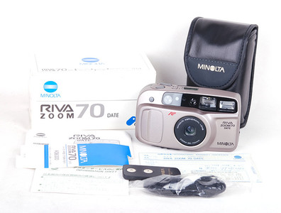 【库存品】Minolta/美能达 Riva zoom 70 DATE 胶片相机 #jp17516