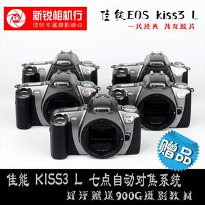 佳能KISS3L胶片单反交卷相机135佳能KISS系列自动对焦带测光