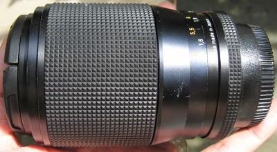尼康口西德康泰时蔡司contax zeiss VS 40-80 F3.5 AEG手动镜头