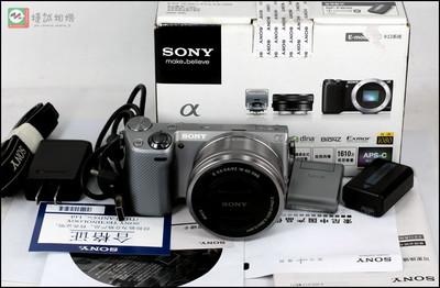 索尼 NEX-5R 套机(16-50mm防抖镜头)包装配件齐全