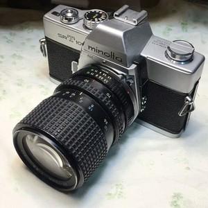 Roc___美能达 SRT101 35-70mm带微距镜头胶片胶卷单反相机套机