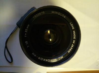 美能达 35mm f1.8 HH漫步者