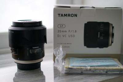 腾龙 SP 35mmF1.8Di VC USD 佳能口