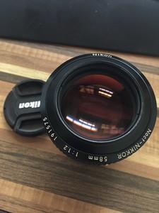 尼康 ais 58mm f1.2