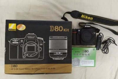 尼康 D80,18-70镜头,50/1.8D镜头打包出售