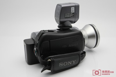 索尼 DCR-SR65E 40GB 硬盘 索尼 SR65 DV 摄像机带广角镜头