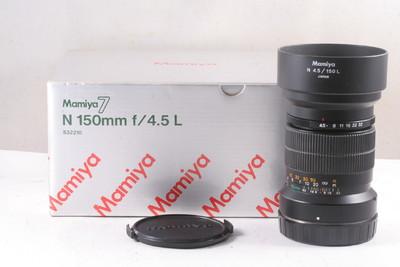 95/玛米亚 N 150/4.5L 镜头, 7或7II 型相机用 (全套包装)