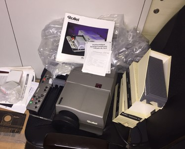德国ROLLEI 禄莱 Rolleivision 66 DUAL P 投影机 幻灯机 投影仪