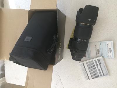 四代 2.8适马 APO 70-200mm f/2.8 II EX DG MACRO HSM