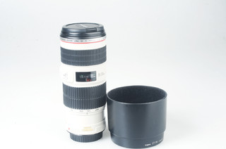 95新  佳能 EF 70-200mm f/4L IS USM(小小白IS)