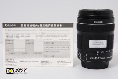 98新 佳能 EF-S 18-135/3.5-5.6 IS STM行货有保卡(BG10080002)