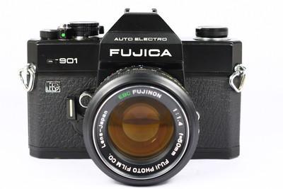 FUJICA ST901 富士 日产135胶片单反相机 M42口 EBC 50/1.4