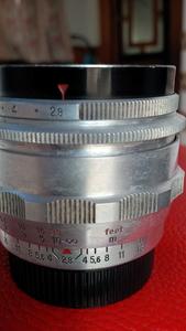 东蔡fkektogon35 2.8,三剑客之一35 2.4的早期版本,白银版,m42口
