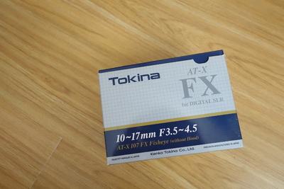 图丽10-17mm f/3.5-4.5 鱼眼(佳能口)