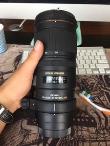 适马 APO 70-200mm F2.8 EX DG OS HSM 五代全套包装 佳能口