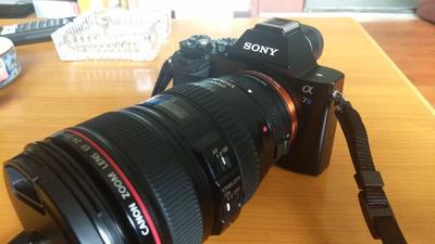 索尼 ILCE-7S 相机sony微单A7s机身 自用  保守97新全包装