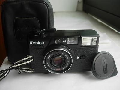 很新柯尼卡EF3定焦镜头旁轴相机,送皮套挂绳,收藏使用