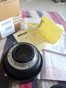 行货发票,尼康 AF-S 50mm f/1.4 G