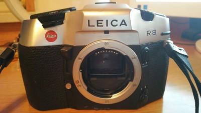 Leica R8胶片机和两成色好定焦头135/2.8,50/2