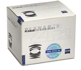 约99新 卡尔·蔡司 Planar T* 50mm f/1.4 ZF.2
