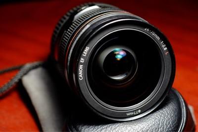 佳能 EF 24-70mm f/2.8L USM 自用闲置 功能完美